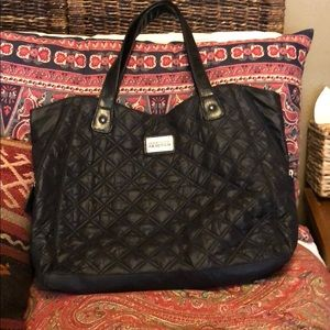 Kenneth Cole Reaction Quilted Tote in Black
